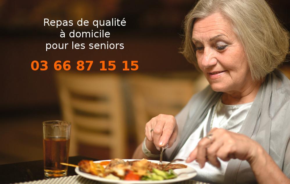 Repas De Qualite A Domicile Pour Les Seniors